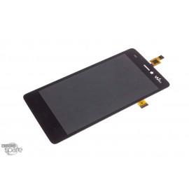 Ecran LCD et Vitre Tactile noire Wiko Highway Pure - M121-R51080-000