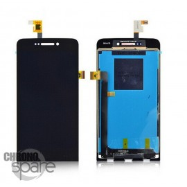 Ecran LCD et Vitre tactile noire Wiko Wax - M121-L36130-000
