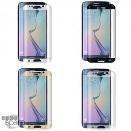 Vitre de protection incurvée Samsung Galaxy S6 Edge Noire