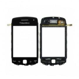 Vitre tactile Blackberry Curve 9380 noir