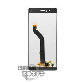 Ecran LCD + Vitre Tactile noire Huawei Ascend P9