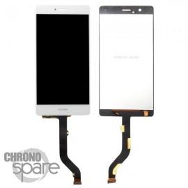 Ecran LCD et Vitre Tactile blanche Huawei P9 Lite