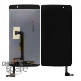 LCD + Vitre tactile noire Alcatel One Touch 4 OT-6055