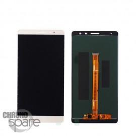 Ecran LCD & Vitre Tactile blanche Huawei Ascend Mate 8