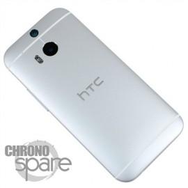 Coque arrière HTC One M8 Argent