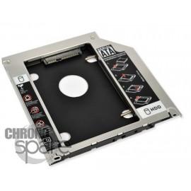 Adaptateur Disque Dur 9.5mm pour emplacement lecteur CD/DVD PC