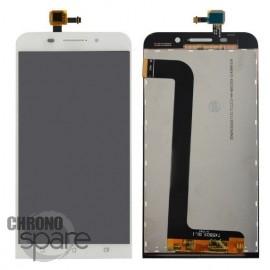 Ecran LCD et Vitre Tactile Blanche Asus Zenfone Max ZC550KL