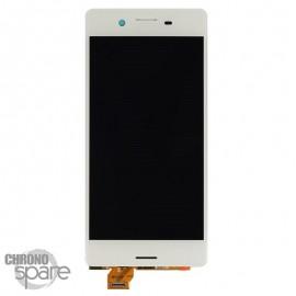 Ecran LCD & Vitre Tactile blanche Sony Xperia X F5121 F5122 (officiel) 1302-4795