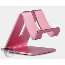 Support aluminium Or Rose smartphone / tablette