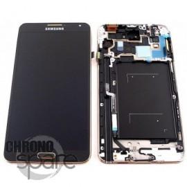 Vitre tactile et écran LCD Samsung Galaxy Note 3 N9005 Noir Or (officiel) GH97-15209F