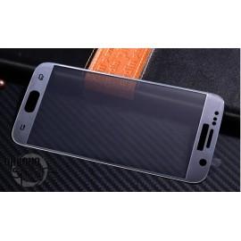 Vitre de protection Samsung Galaxy S7 Argent