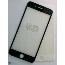 Film de protection incurvé 3D en verre trempé iPhone 7 Blanche