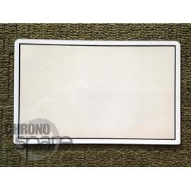 Vitre écran du haut Nintendo 3DS XL blanche