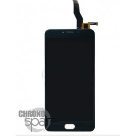 Ecran LCD + Vitre tactile Noire Meizu M3 Note (L681H)
