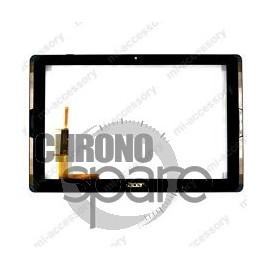 Vitre tactile noire Acer A3-A40