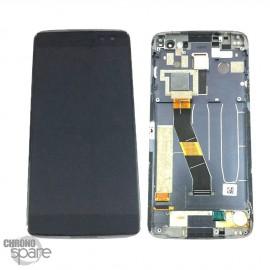 Ecran LCD + Vitre tactile noire Blackberry Dtek 60