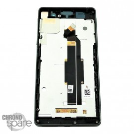Ecran LCD et Vitre Tactile noire Sony Xperia E5 F3311 (officiel) 78PA4100020