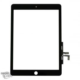 Vitre tactile noire + scotch 3M iPad Air (sans bouton)