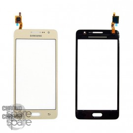 Vitre tactile Or Samsung Galaxy Grand Prime 4G G531F (Compatible)