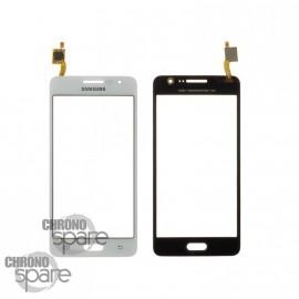Vitre tactile Blanche Samsung Galaxy Grand Prime 4G G531F (Compatible)