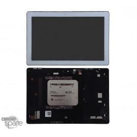 Ecran LCD et Vitre Tactile Blanche Asus Zenpad 10 Z300C (P023C)