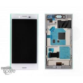 Ecran LCD et Vitre tactile blanche Sony Xperia X compact F5321 (officiel)
