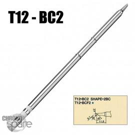 Panne T12-BC2 pour fer à souder Hakko
