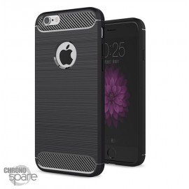 Coque souple carbone iphone 6/6S - Noir