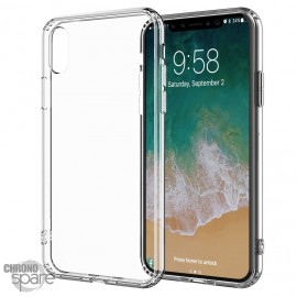 Coque silicone transparente iPhone X