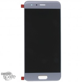 Ecran LCD + Vitre Tactile Honor 9 Gris