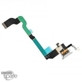 Nappe Connecteur de Charge Blanc iPhone X