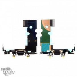 Connecteur de charge Noir iPhone 8