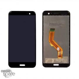 Vitre tactile + écran LCD HTC U11 - Noir