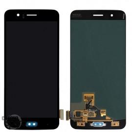 Ecran LCD + Vitre Tactile Noire OnePlus 5