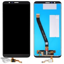 Ecran LCD + Vitre Tactile Honor 7X - Noir