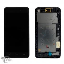 Ecran LCD et Vitre Tactile Noir Wiko Sunny 2 Plus