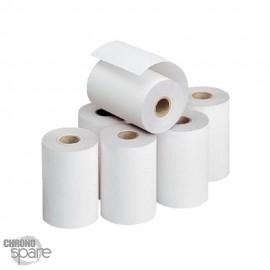 Bobine TPE / papier thermique 57x40x12 - lot de 5