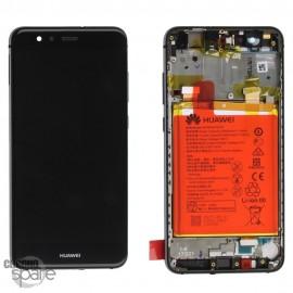 Bloc écran LCD + vitre tactile + batterie Huawei P10 Lite Noir (officiel)