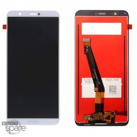 Ecran LCD + vitre tactile Blanc Huawei P Smart