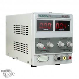 Poste alimentation réglable 0/30V - 0/5A BK- 305 D