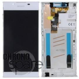 Bloc complet écran LCD Sony Xperia L1 Blanc (G3311,G3312, G3313)