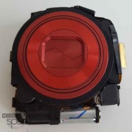 Bloc zoom rouge Nikon Coolpix S4400 S5200 sans capteur photo
