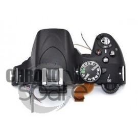 Partie commandes supérieur Reflex Nikon D5100