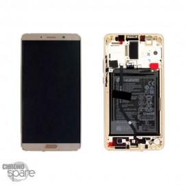 Ecran LCD + Vitre Tactile Huawei Ascend Mate 10 Or (officiel)