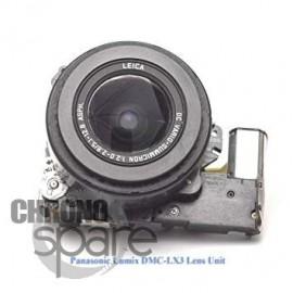 Bloc zoom Panasonic LX3 sans capteur photo