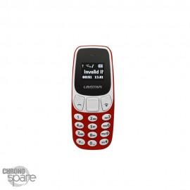 Mini Téléphone Débloqué à Quadri-Bande L8STAR BM10 Rouge